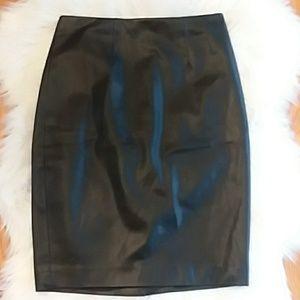 Leather Ann Taylor Skirt